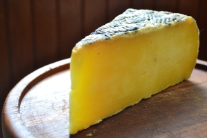 Side view of Rodolphe le Meunier cheese
