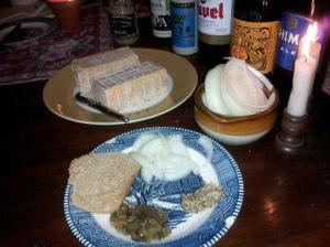 Limburger and Accompaniments