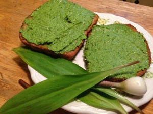 Ramp Pesto Sandwich