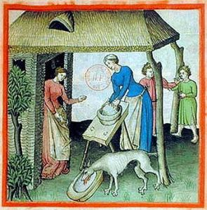 Medieval Cheese Making 1