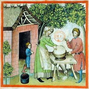 Medieval Cheese Making 3