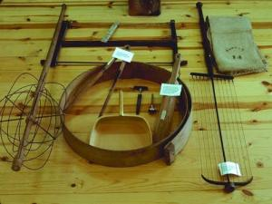19th century cheesemaking tools